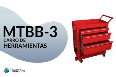 MTBB-3 CARRO DE HERRAMIENTAS